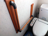堀江工務店の、頻繁に使う場所だから、トイレは心地良く